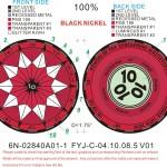 10 10 10 Powers of Ten Multi Event Geocoin – Portuguese editions