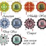 Neptunes Compass Geocoin – Portugal